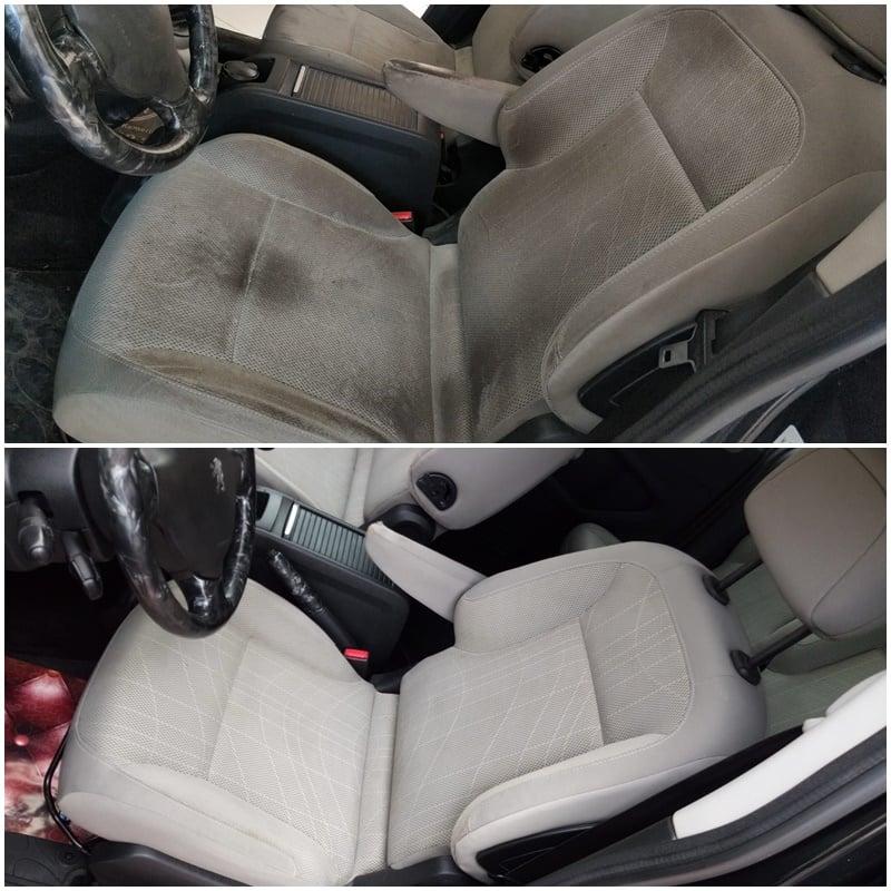 araç koltuk temizleme